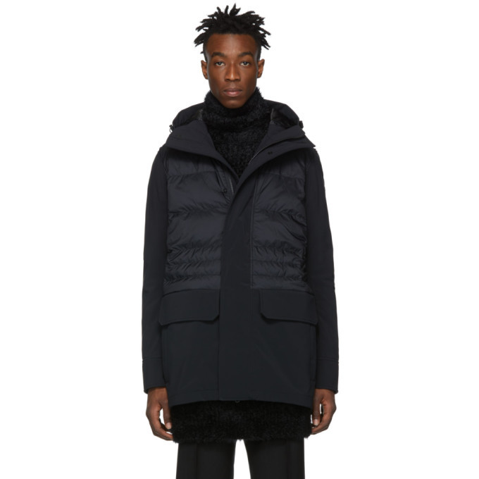 Photo: Canada Goose Black Down Black Label Breton Jacket