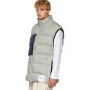 3.1 Phillip Lim Grey Oversized Down Vest