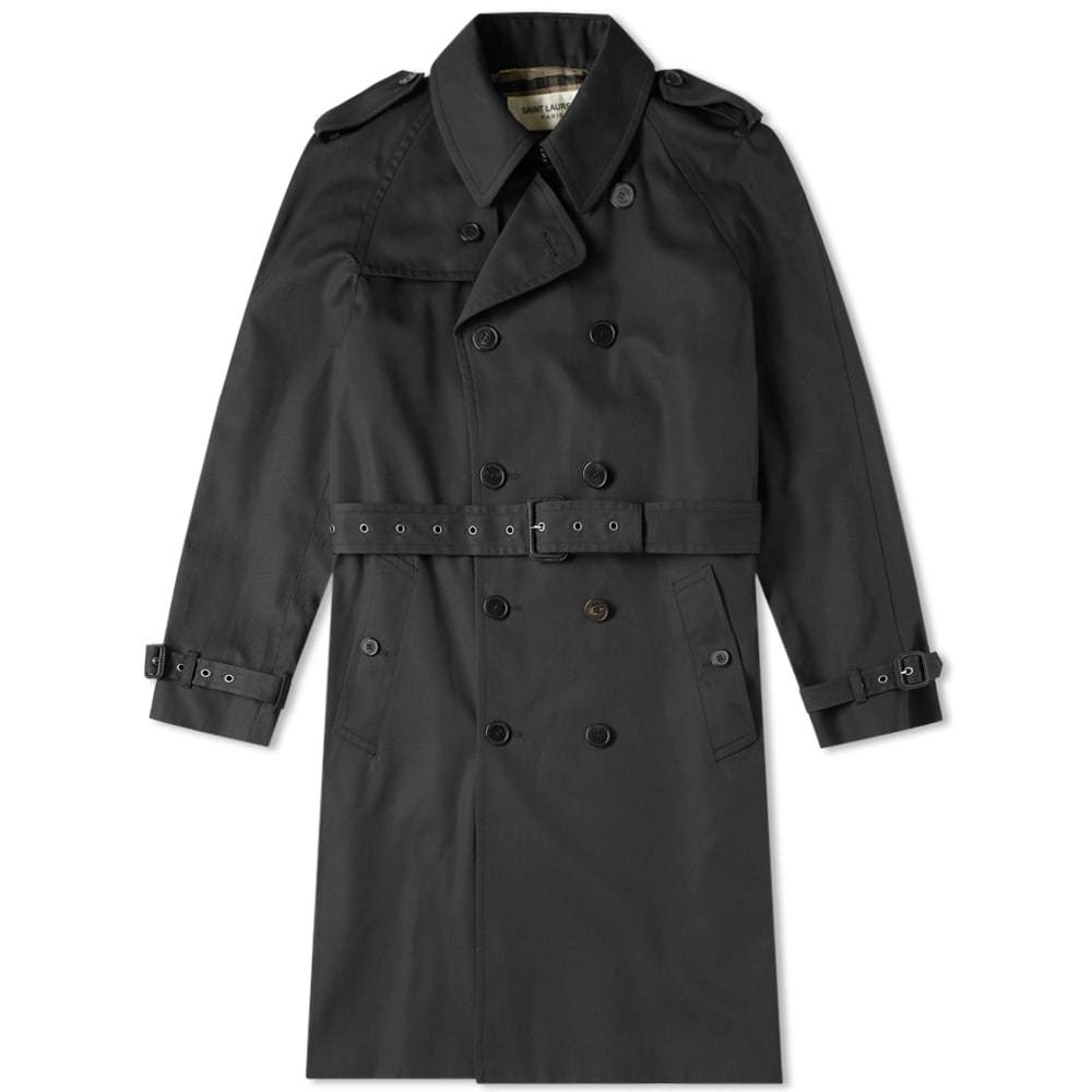 Photo: Saint Laurent Belted Trench Coat