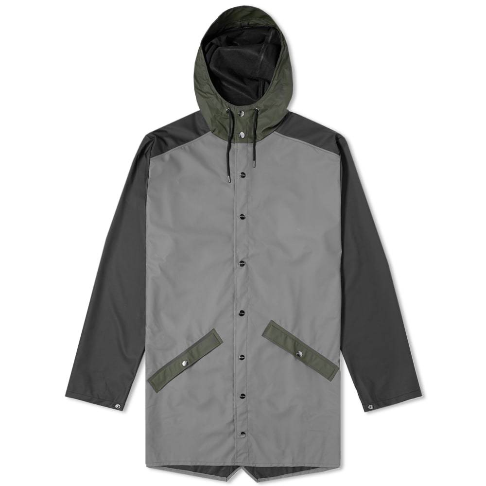 Photo: Rains Colour Block Long Jacket