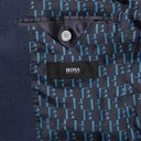 HUGO BOSS - Raye Slim-Fit Unstructured Wool, Linen and Silk-Blend Blazer - Blue
