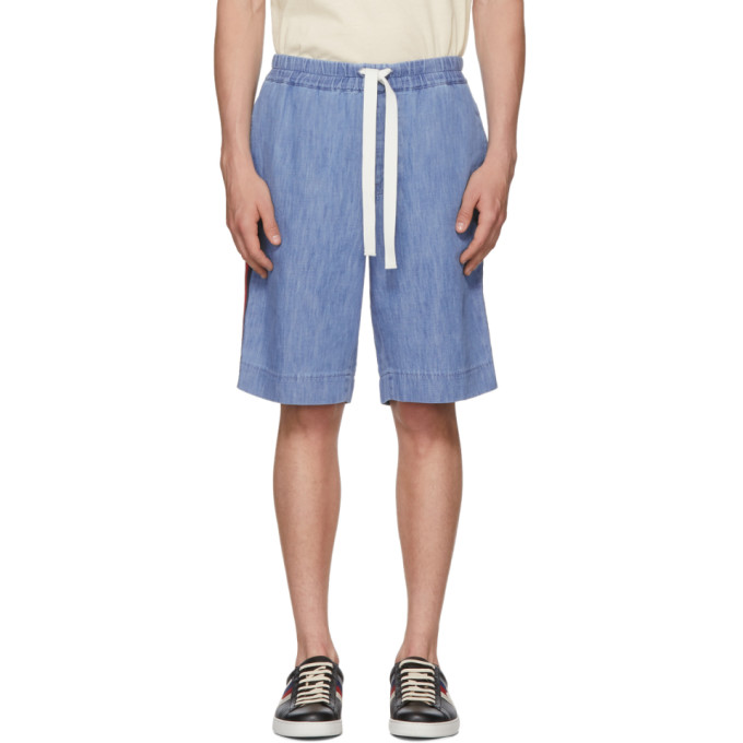 Photo: Gucci Blue Chambray Shorts