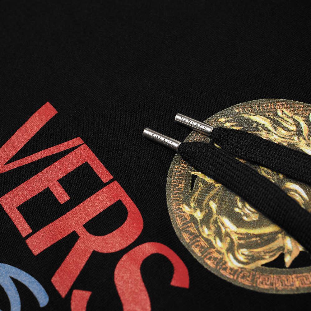 Versace Home Signature Logo Popover Hoody