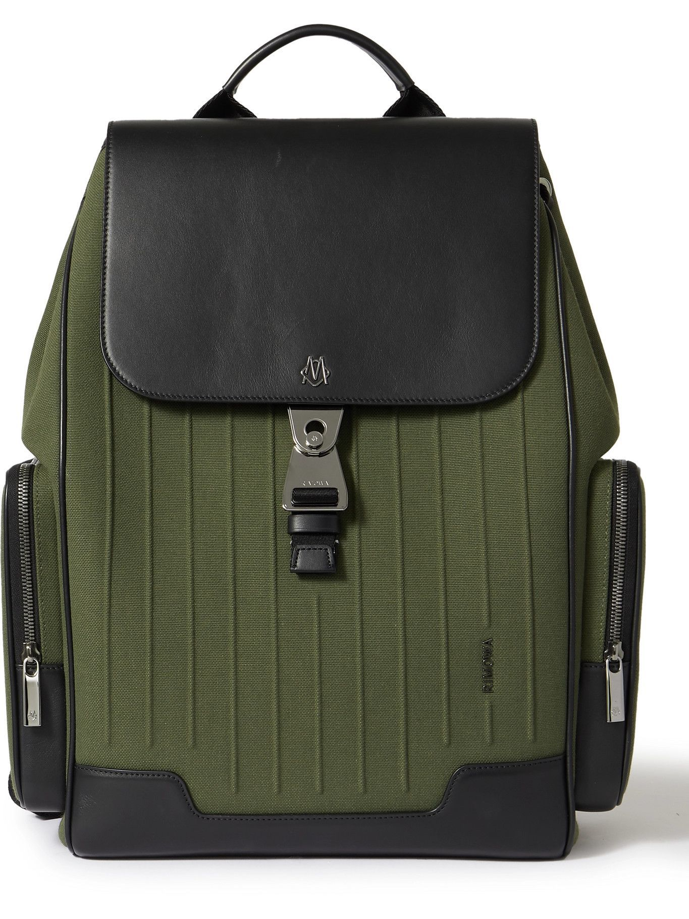 Photo: RIMOWA - Leather and Canvas Backpack