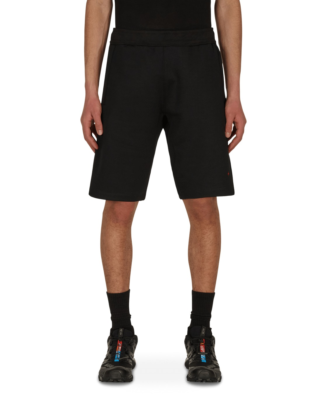 Stone Island Marina Fleece Shorts Black