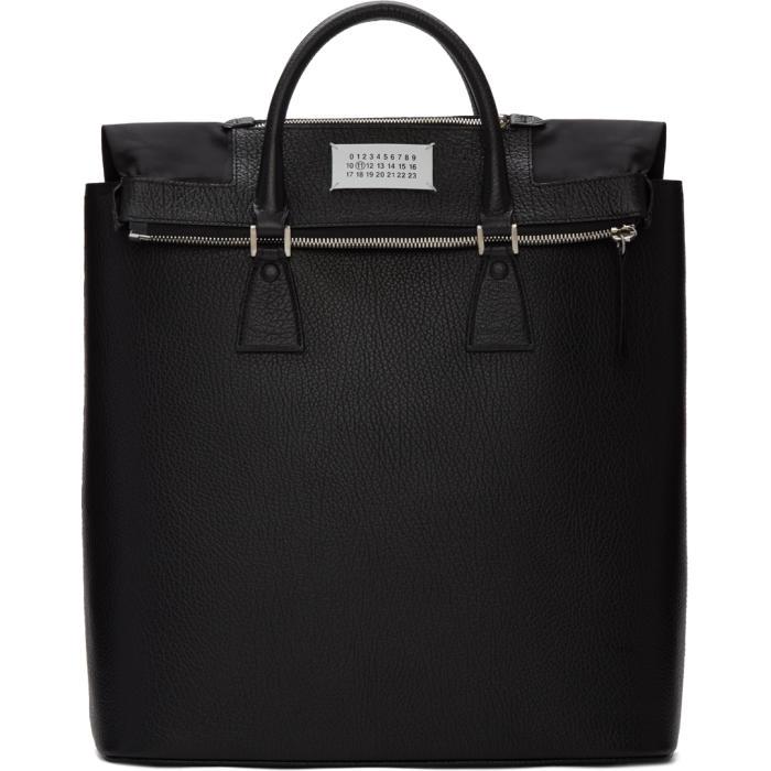 Photo: Maison Margiela Black Exposed Lining Tote Bag
