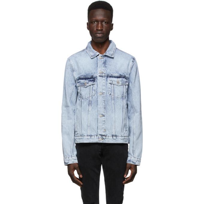 Photo: Ksubi Blue Denim Classic Jacket
