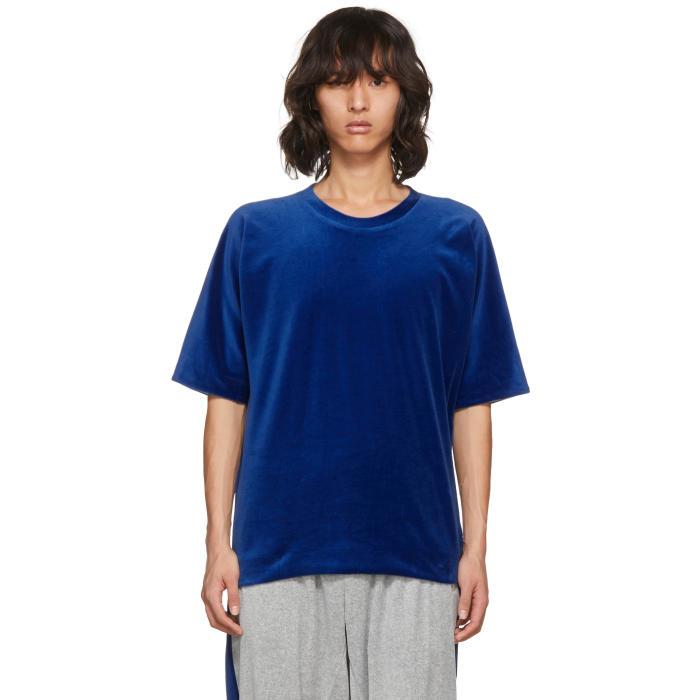 3.1 Phillip Lim Reversible Blue Vintage Fit T-Shirt