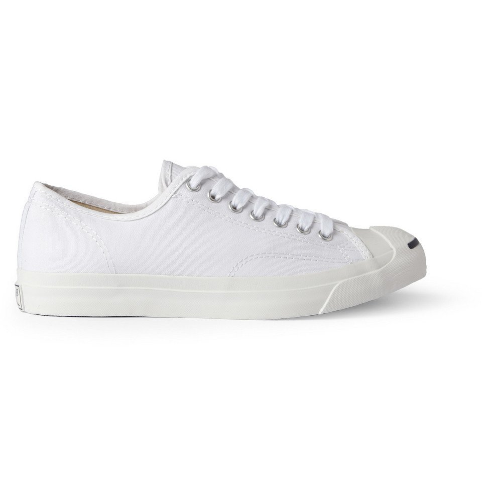 Photo: Converse - Jack Purcell Canvas Sneakers - White