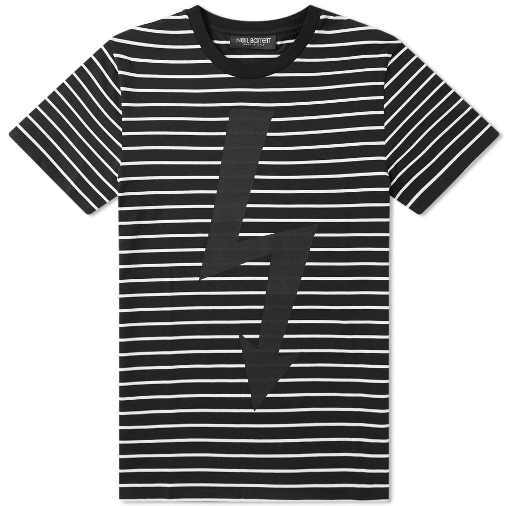 Photo: Neil Barrett Lightning Bolt Stripe Tee