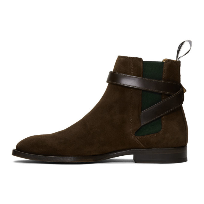 PS by Paul Smith Brown Suede Harrow Chelsea Boots