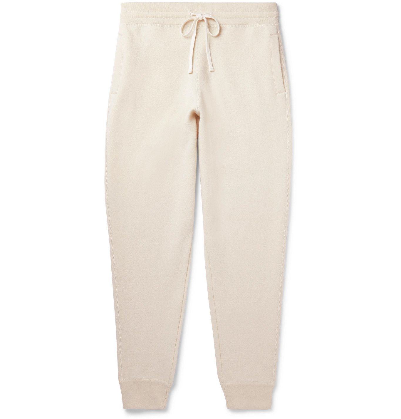 Photo: TOM FORD - Tapered Cashmere-Blend Sweatpants - Neutrals