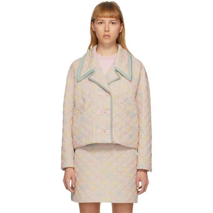Photo: Fendi Pink Quilted Daisies Jacket