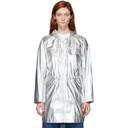 Stella McCartney Silver Noelia Parka Jacket