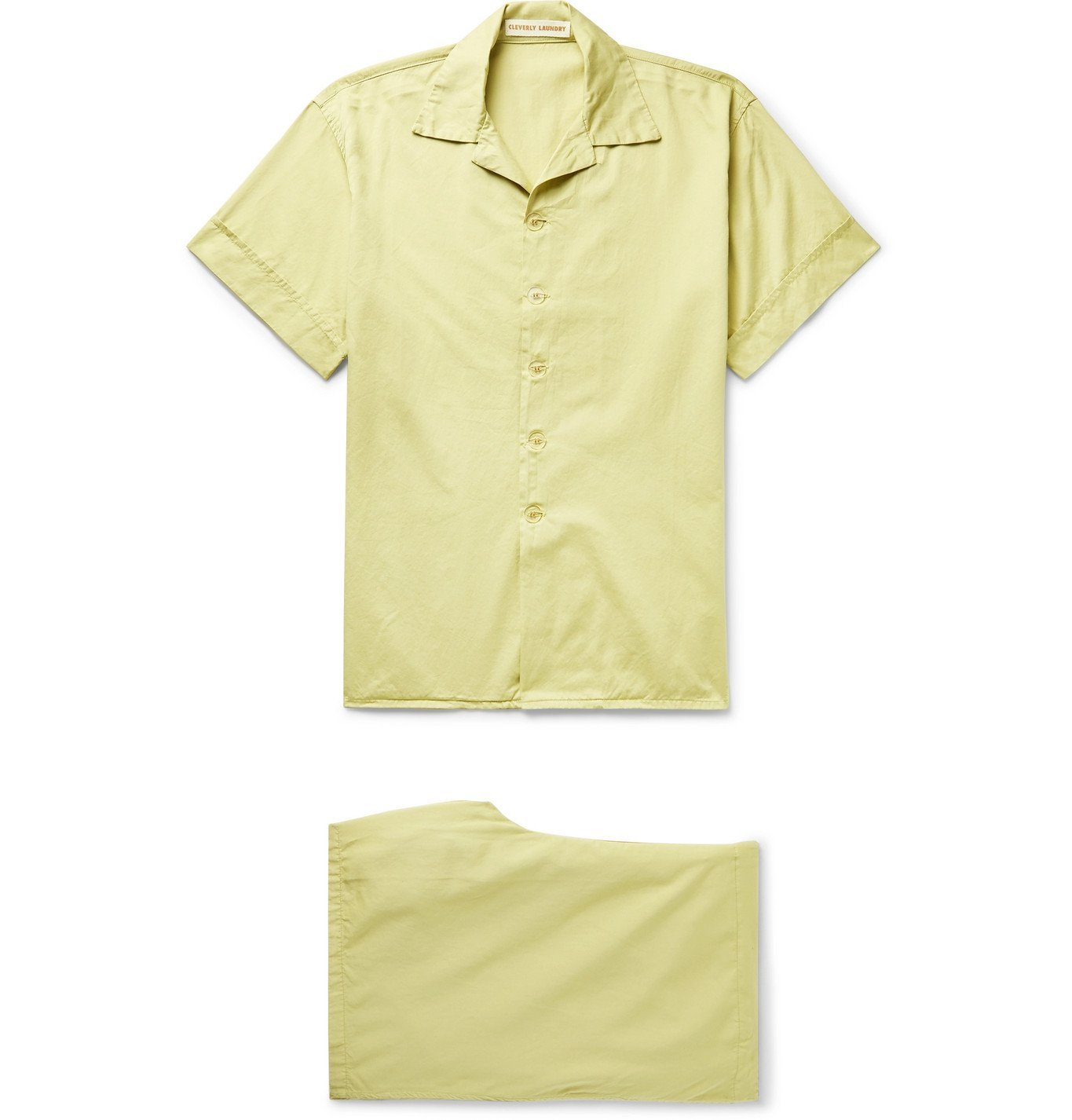 Cleverly Laundry - Cotton Pyjama Set - Green