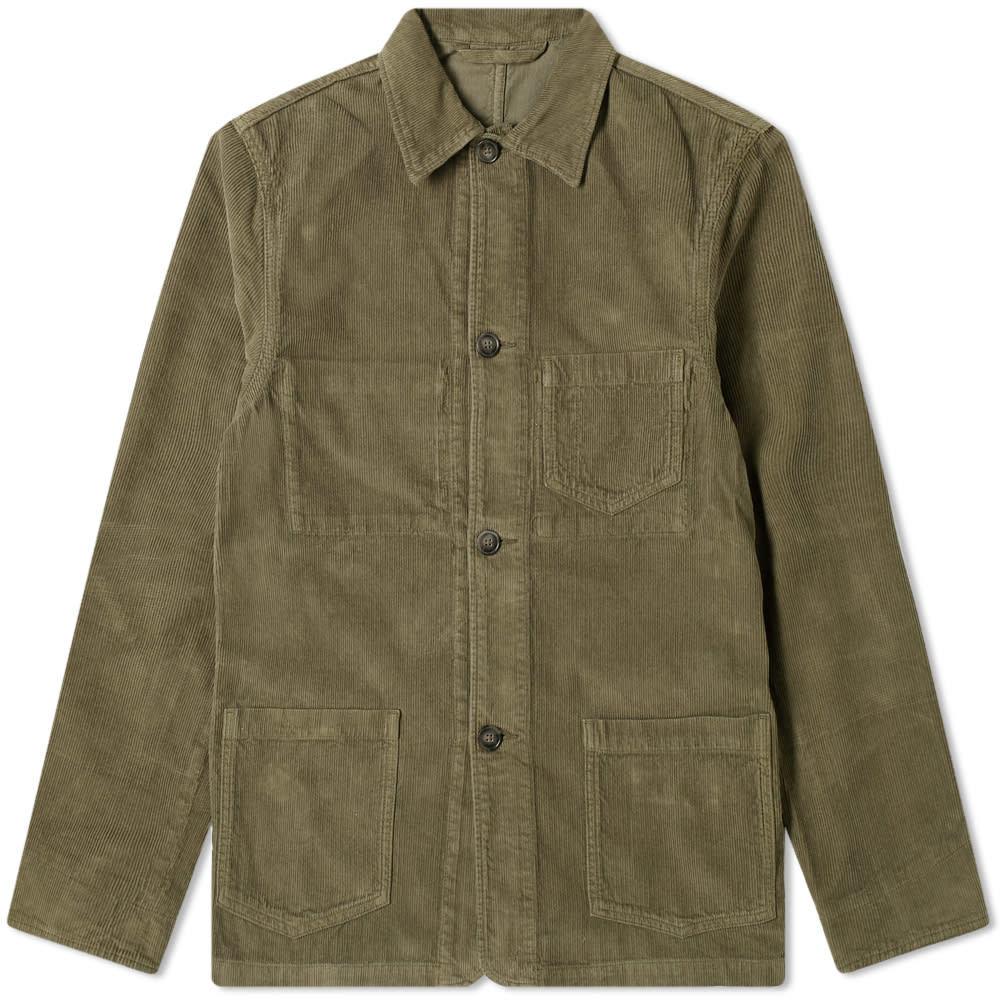 Photo: Officine Generale Corduroy Chore Jacket