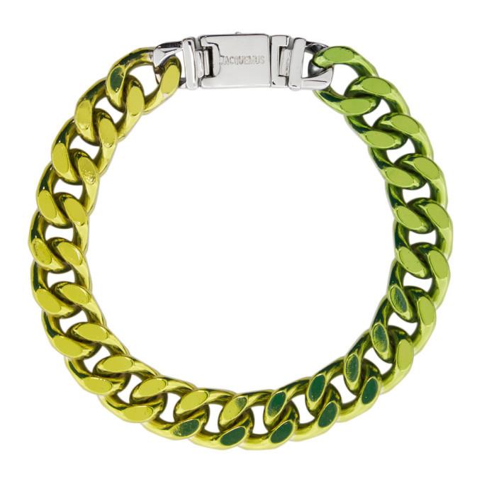 Photo: Jacquemus Green La Gourmette Bracelet
