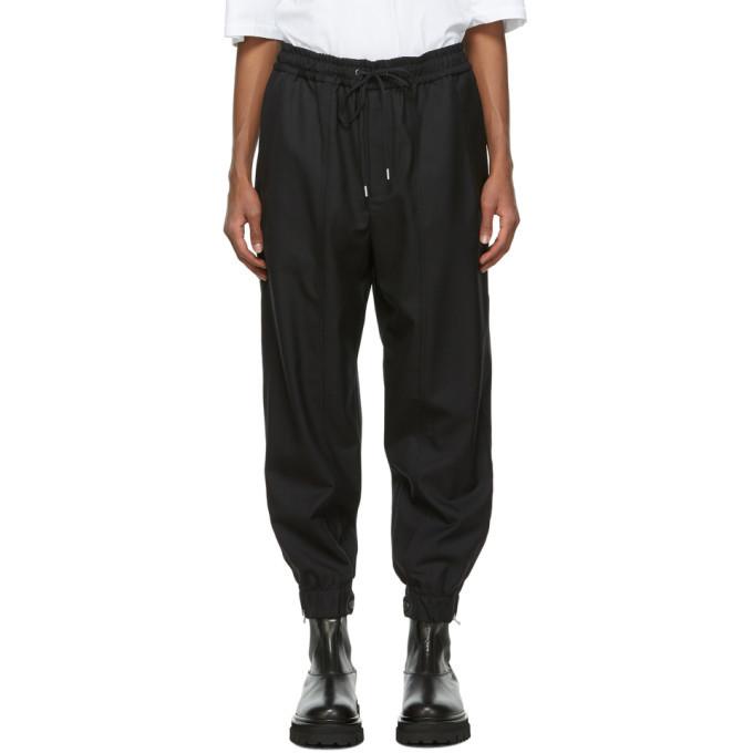 Photo: 3.1 Phillip Lim Black Wool Serge Lounge Pants