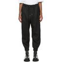 3.1 Phillip Lim Black Wool Serge Lounge Pants