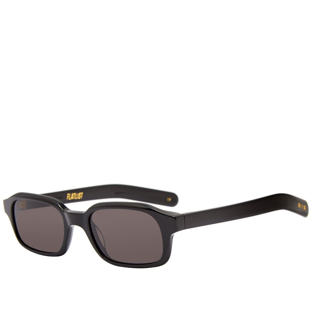 Photo: Flatlist Hanky Sunglasses Solid Black