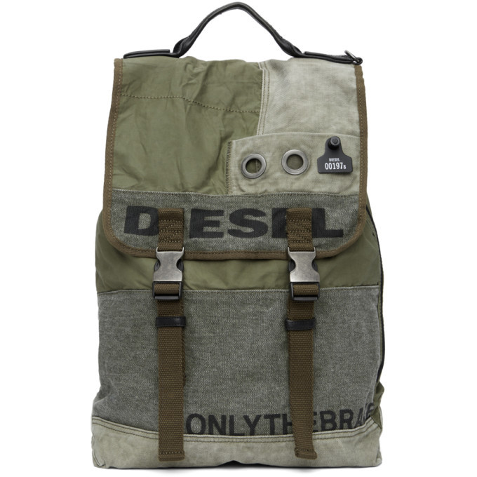 Photo: Diesel Green Volpago Army Backpack