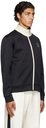 Dunhill Black 'D' Track Zip-Up Jacket