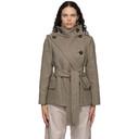 Stella McCartney Taupe Wool Amelia Coat