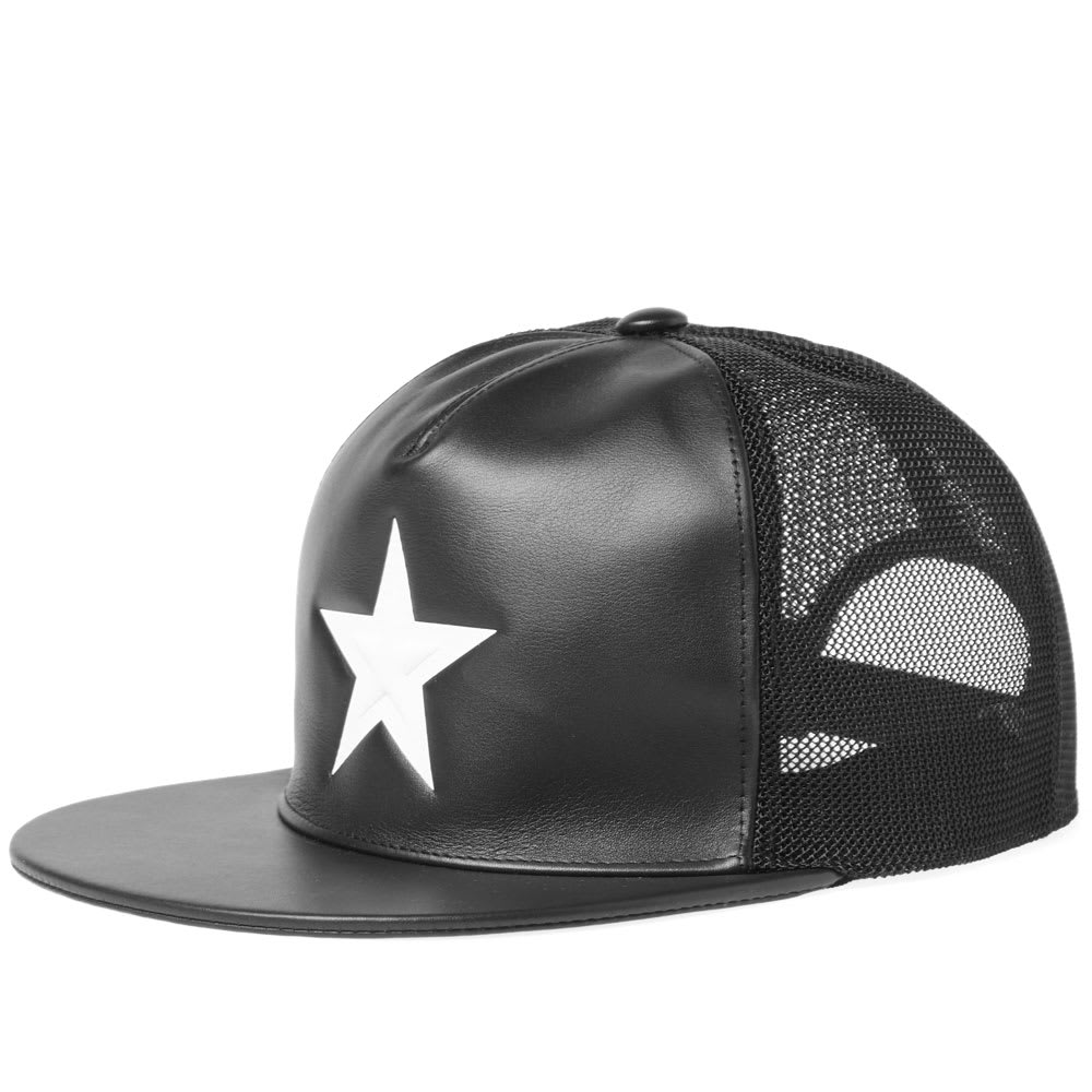 Givenchy White Star Leather Cap Givenchy 8a770f39520