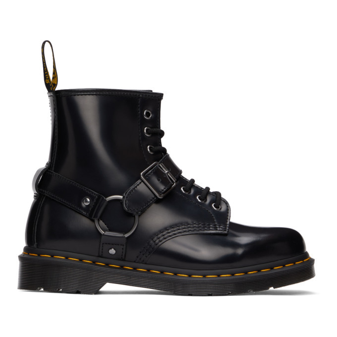 Photo: Dr. Martens Black 1460 Harness Boots