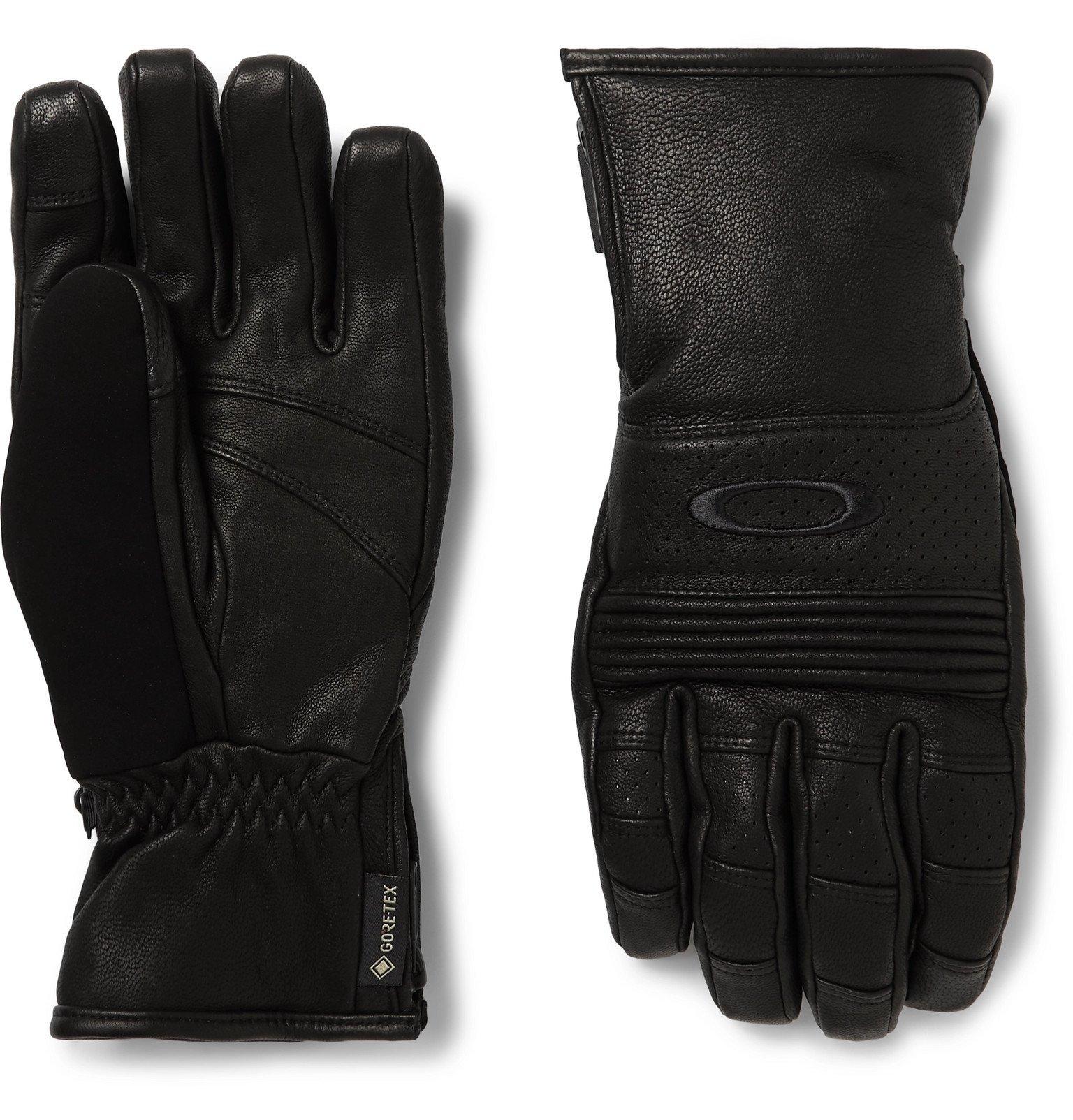 Photo: Oakley - Silverado GORE-TEX and Leather Gloves - Black
