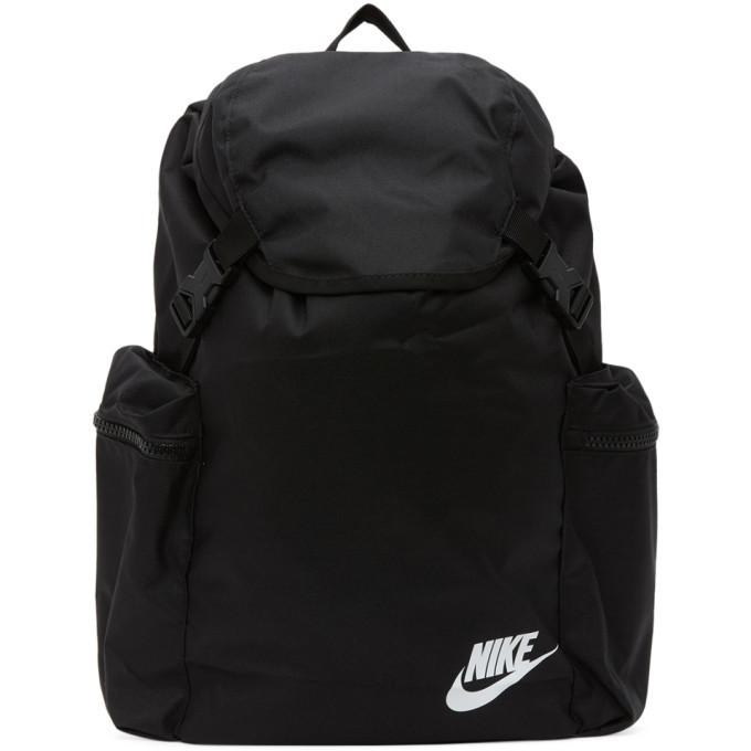 Photo: Nike Black Heritage Rucksack Backpack