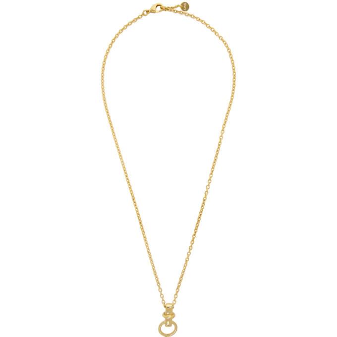 Photo: A.P.C. Gold Cybill Necklace