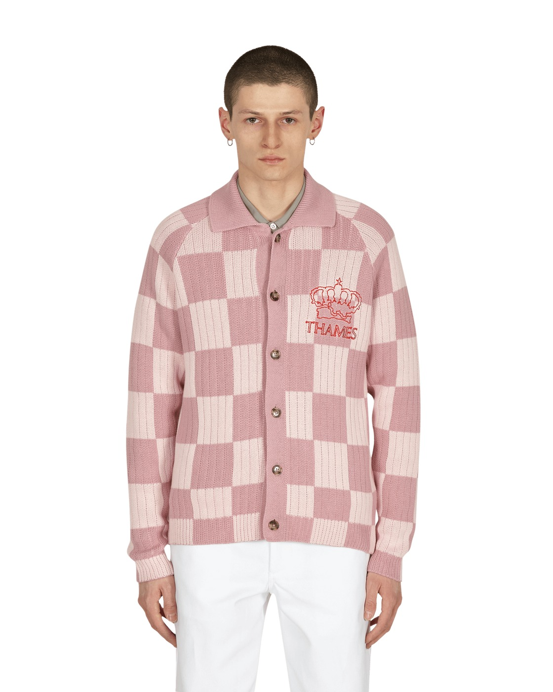 Photo: Thames London Le Cheq Sweater Pink Check