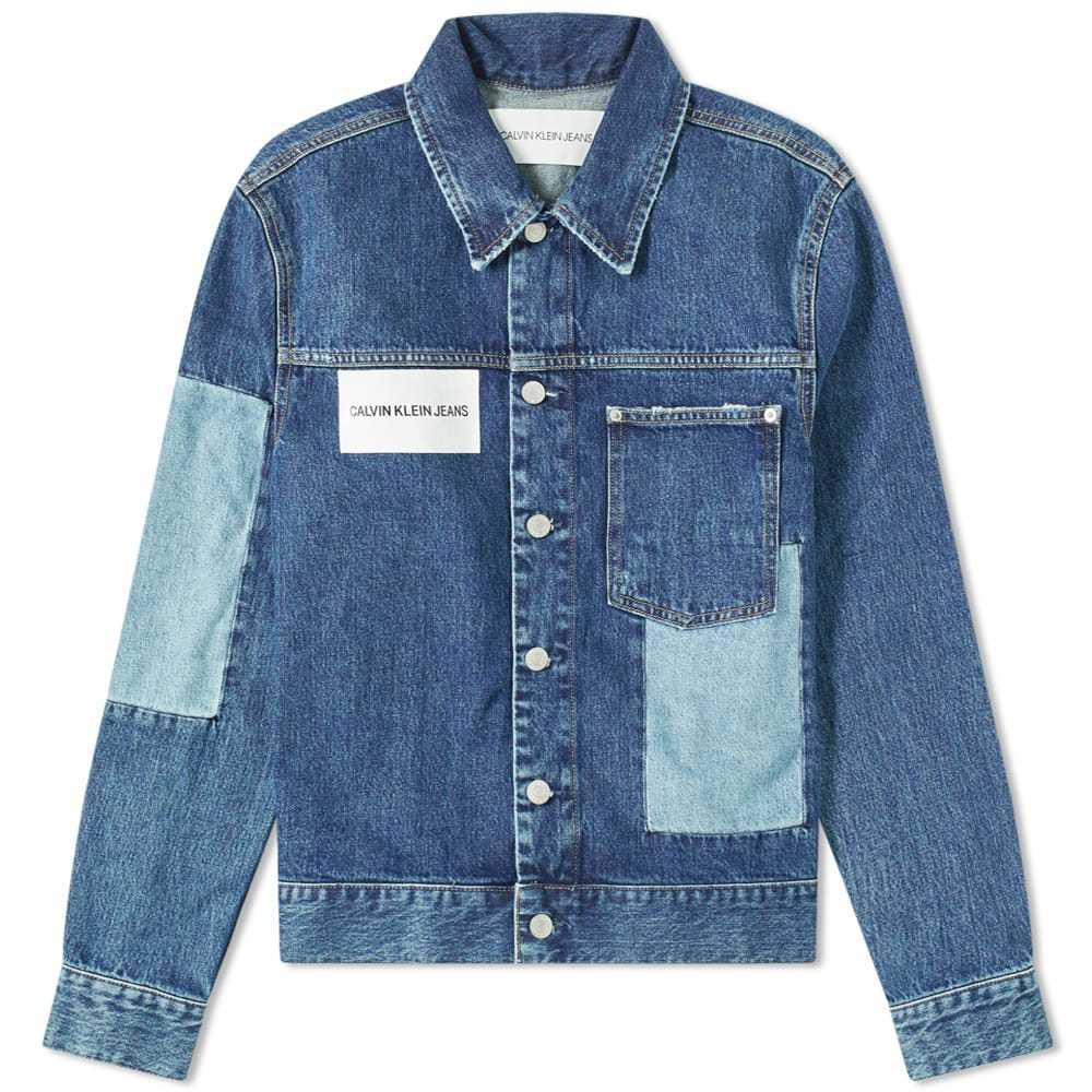 Photo: Calvin Klein Patched Denim Jacket