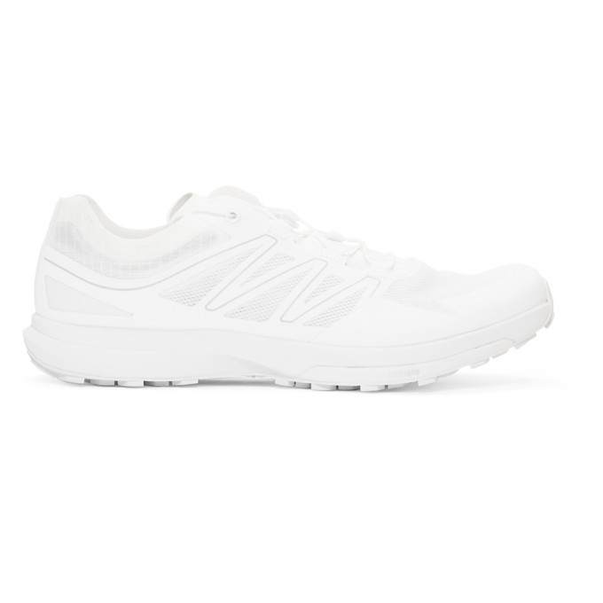 Photo: Salomon White Sense Sprint ADV Sneakers