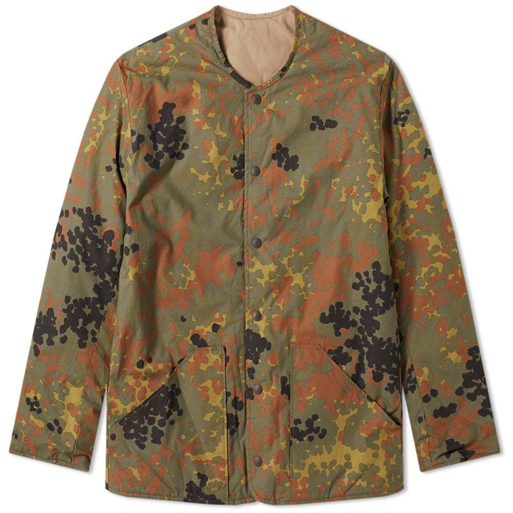 Photo: orSlow Reversible Shell Jacket Camo & Khaki