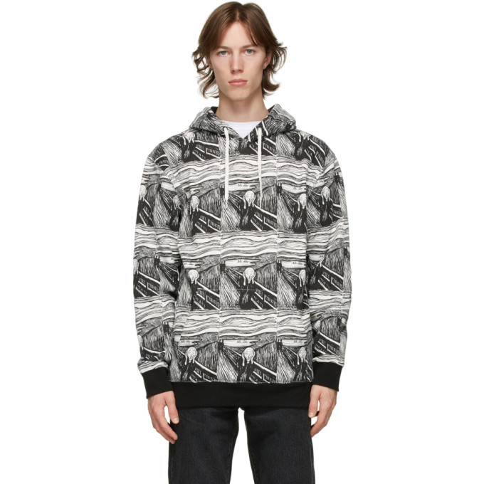 Photo: Vans Black and White MoMA Edition Munch Hoodie