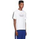 adidas Originals White Outline Trefoil T-Shirt
