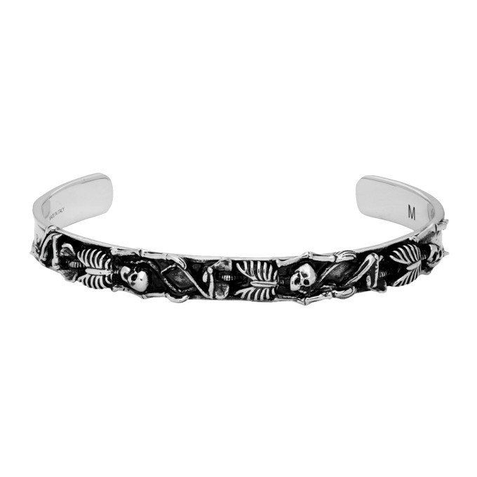 Photo: Alexander McQueen Silver Dancing Skeleton Bracelet