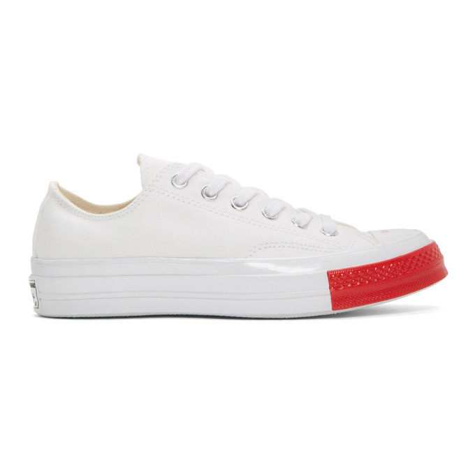 Photo: Undercover White Converse Edition Chuck 70 Ox Sneakers