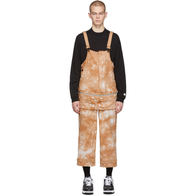 Photo: Clot Brown Dickies Edition Tie-Dye Dragon Overalls