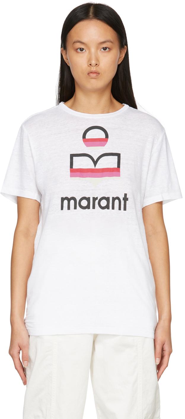 Photo: Isabel Marant Etoile White Zewel T-Shirt