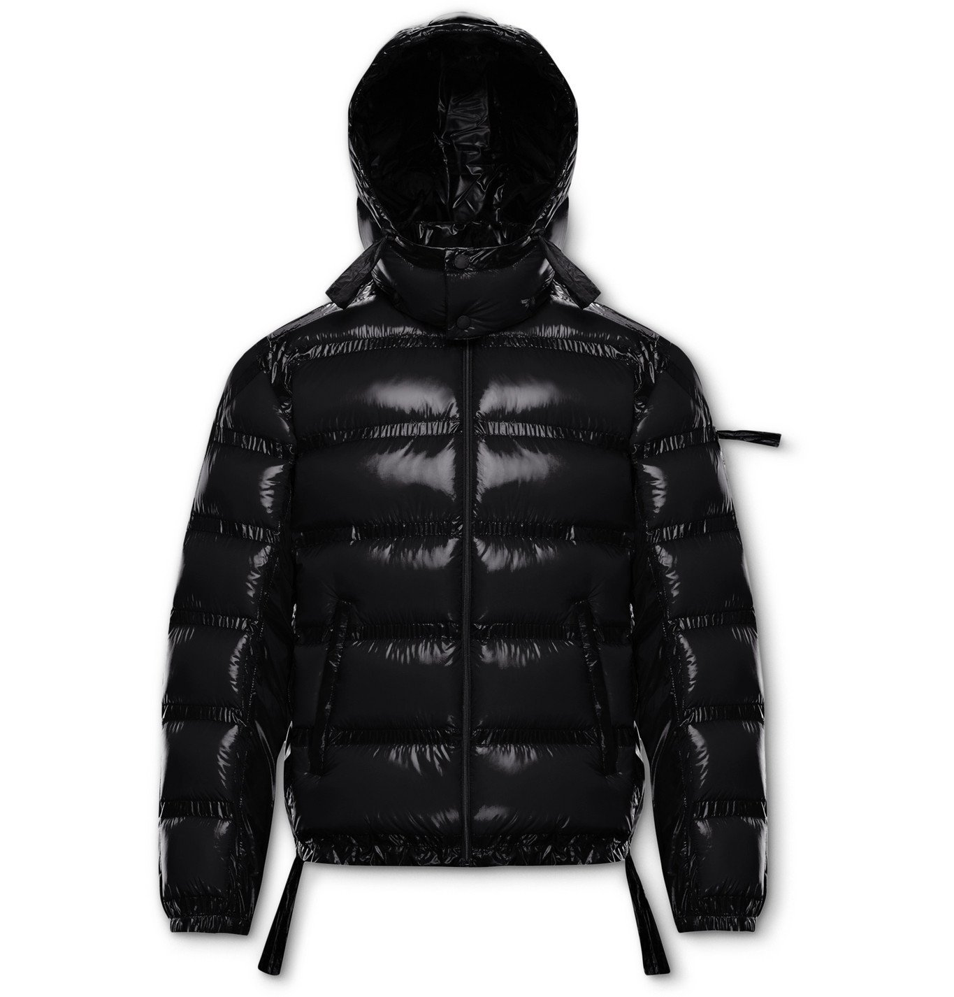 Photo: Moncler Genius - 5 Moncler Craig Green Lantz Padded Quilted Shell Hooded Down Jacket - Black