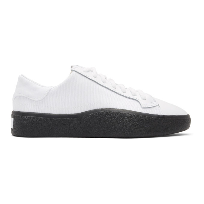 Photo: Y-3 White Tangutsu Lace Sneakers