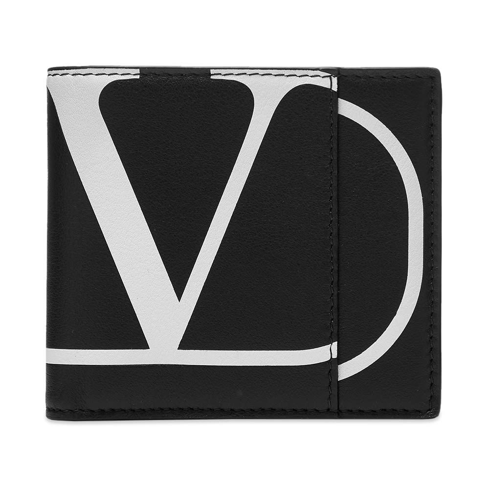 Photo: Valentino Large Go Logo Leather Billfold Wallet