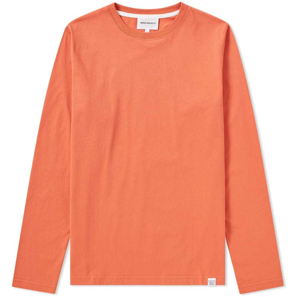 Photo: Norse Projects Long Sleeve Niels Standard Tee Red