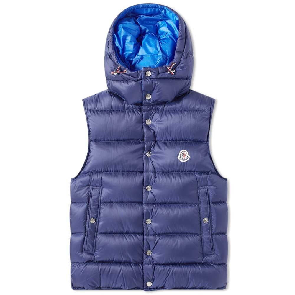 Photo: Moncler Billecart Hooded Down Gilet