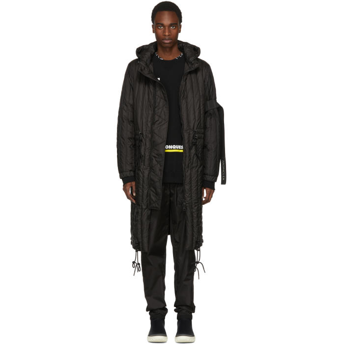 Photo: Moncler C Black Down Barbier Parka