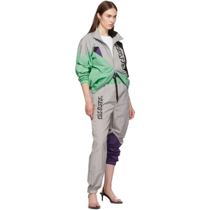 alexanderwang.t Grey Wash and Go Colorblock Lounge Pants