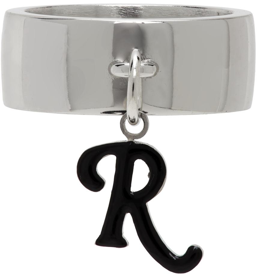 Photo: Raf Simons Silver R-Charm Ring